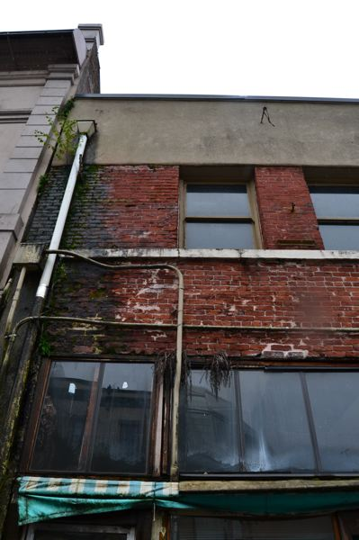 JULES ROGERS - Because Wong Laundry is an unreinforced masonry building, Zhaos estimators say it could cost half a million to seismically retrofit according to a proposed city policy that is currently in draft form.