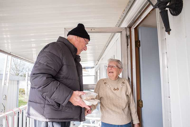 In Hillsboro, Meals on Wheels People deliver not just warm food, but warm their clients hearts.