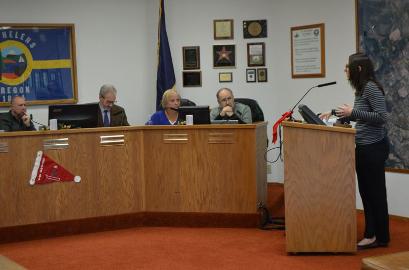St. Helens adopts plan for waterfront development