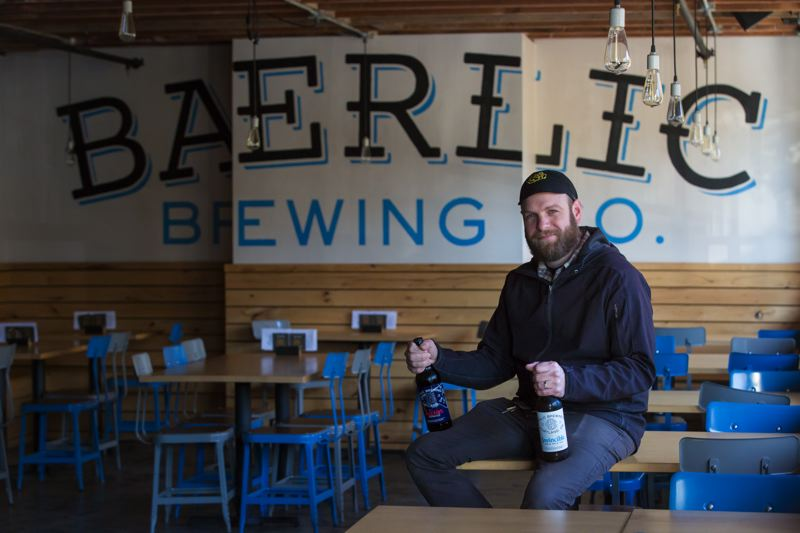 PAMPLIN MEDIA GROUP: JONATHAN HOUSE - Baerlic Brewing owner Ben Parsons chooses to bottle his beer versus canning it, due to worries about BPA contamination.