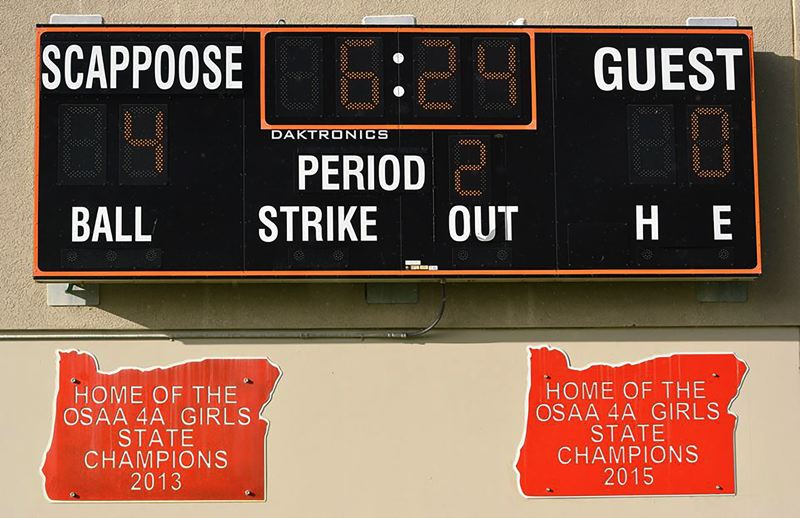 Scappoose Soccer Club ceremony will christen Indians girls' state championship banners