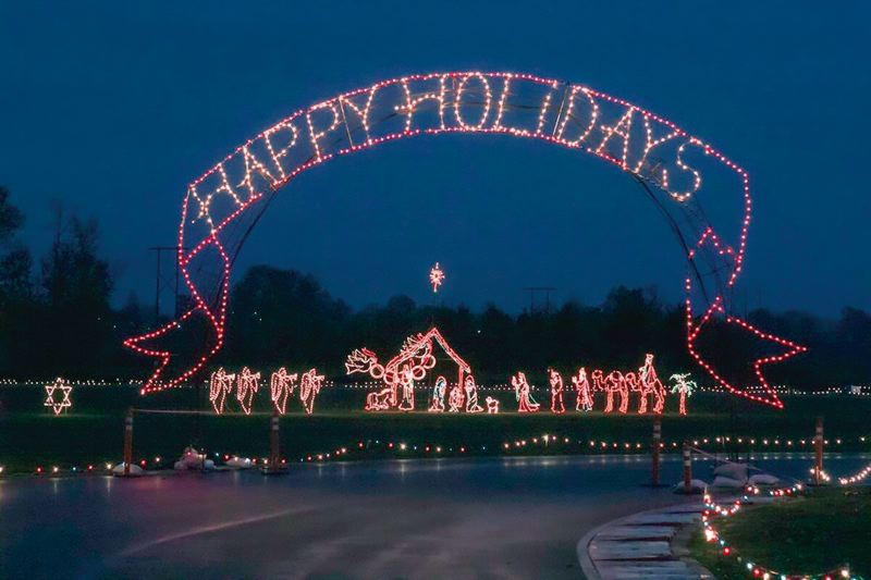 COURTESY SUNSHINE DIVISION - The annual Winter Wonderland Light Show is  expected to attract 100,000 or - Pamplin Media Group - PIR Holiday Lights Shine On New Owner