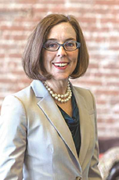 FILE PHOTO - Oregon Gov. Kate Brown