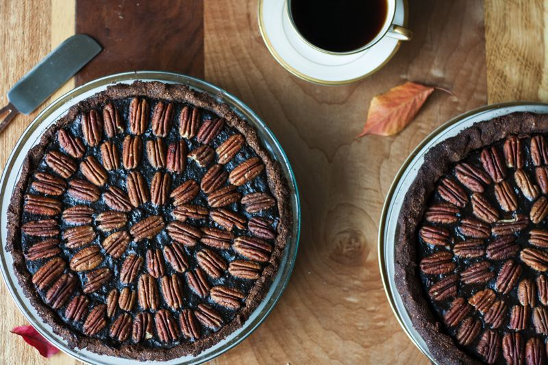 COURTESY: EATWITHZEST.COM - Chocolate Pecan Pie