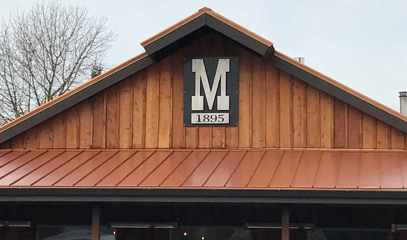 TYLER NIZER - This new Markum Inn building is the fourth one since the restaurant's founding in 1895 in Marquam, on Highway 213 near Molalla.