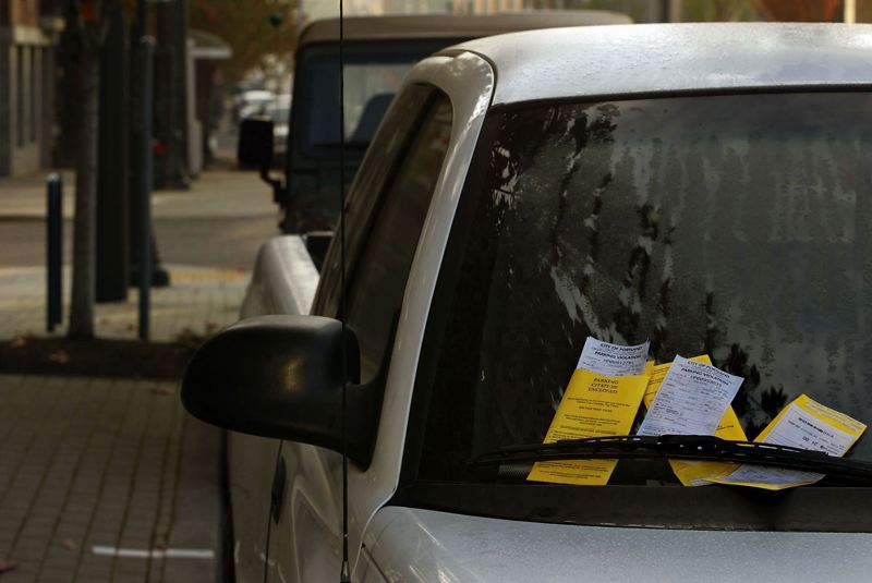 Pamplin Media Group - That parking ticket helps pay for new