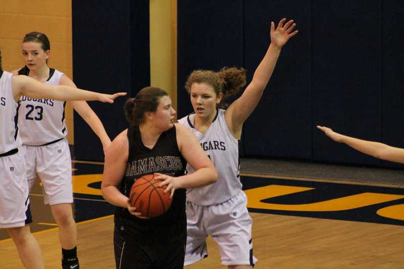 Cougar girls win two of three last week