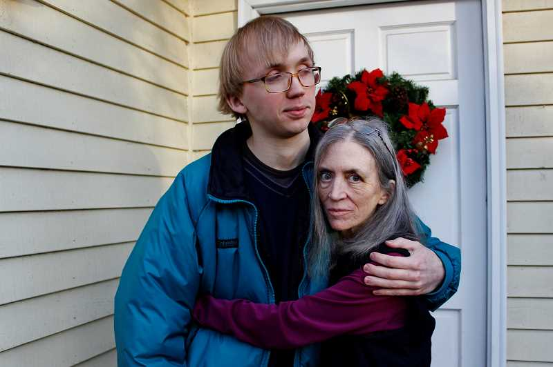 REVIEW PHOTO: KELSEY OHALLORAN - Shane and Cynthia Johnson say they don't know where they'll go after they're evicted from their Lake Oswego home on Jan. 5.