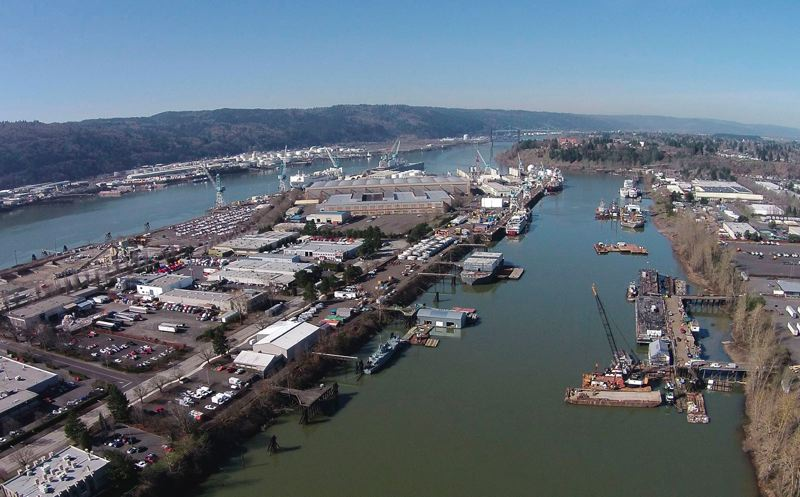 PORTLAND TRIBUNE FILE PHOTO - The U.S. Environmental Protection Agency is finalizing work on a Portland Harbor Superfund cleanup plan it estimates at $746 million, although some say it will cost a lot more.