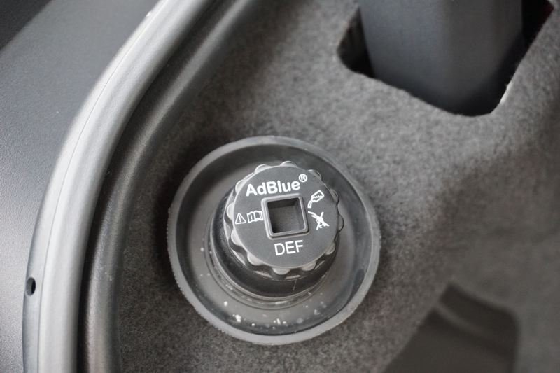 PORTLAND TRIBUNE: JEFF ZURSCHMEIDE - Jaguar's powerful and economical 2.0-liter diesel engine meets all emission standards, thanks to the use of a product called Diesel Exhaust Fluid that is available at any auto parts store and easy to refill.