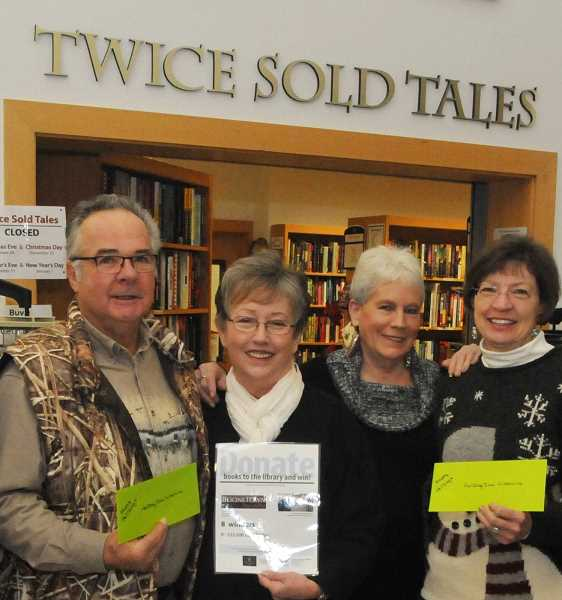 SUBMITTED PHOTO - Having served as the president of the Friends of the Wilsonville Library for 13 years, Sivyer has deep connections in the literary community in Wilsonville, which shes used to her advantage to sell her book.