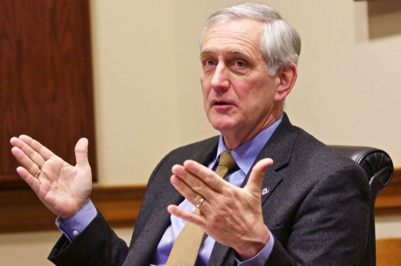 PORTLAND TRIBUNE FILE PHOTO - Former Mayor Charlie Hales created a website to display his accomplishments in office.