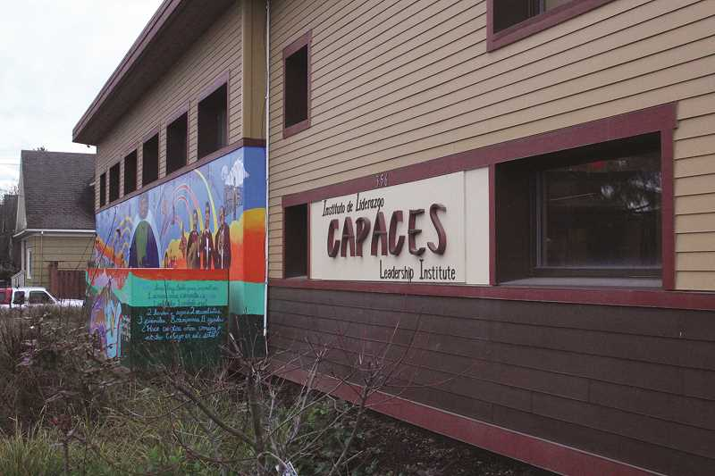 INDEPENDENT FILE PHOTO - The Oregon Community Foundation gave a $25,000 grant to CAPACES Leadership Institute to help the organization start a new program called People's Representative.