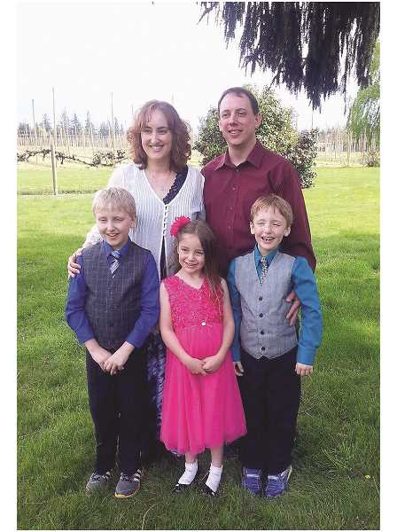 COURTESY PHOTO - Family provided KOIN News 6, a news partner of Pamplin Media Group/Woodburn Independent, with this recent photo of the Kroeker family. It is unconfirmed whether the found remains are of the family.