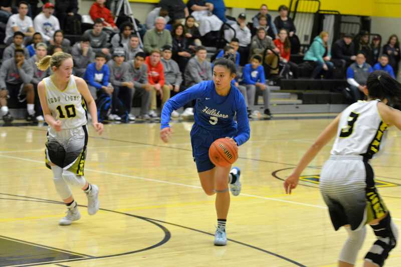 Lions girls' basketball will see Parkrose when winter weather clears