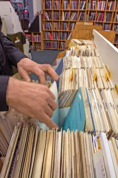 PAMPLIN MEDIA GROUP: JOHN VINCENT - Local sources of sheet music have grown scarce, but the Portland Music Company still offers a wide selection. It's one of the areas that is under relentless pressure from internet sellers, but it continues to be a significant component of the stores' business.