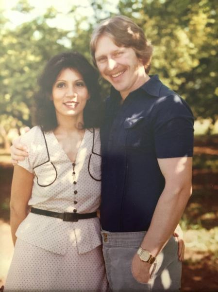 PHOTO COURTESY: GINA WITHROW - Marty and Tari Gant are pictured in the late 1970s or early 1980s.