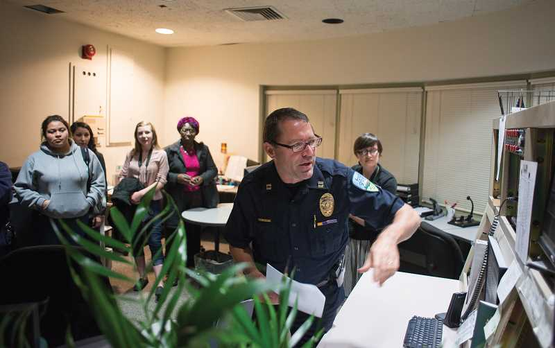 NEWS-TIMES FILE PHOTO - Capt. Mike Herb helps run the annual FGPD Citizens Academy, which will offer a new class this year on Racial Bias and Police Legitimacy.