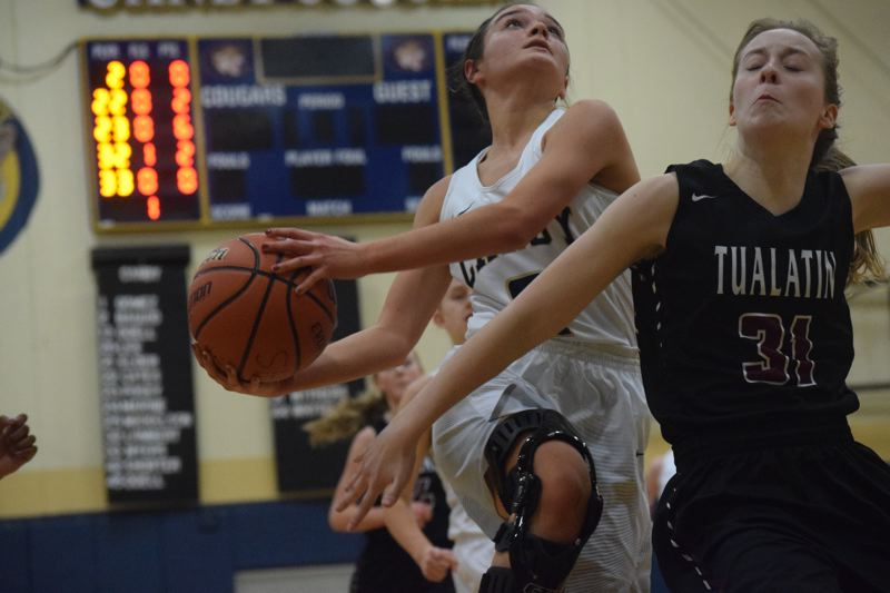 Girls basketball: Canby pulls away in second half and topples Tualatin