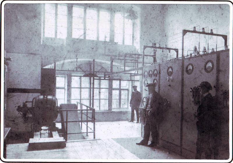 COUTRESY: ALEX WILHELM - The power station in Tattendorf, Austria, in 1925 when it went electric. In 2014 Alex Wilhelm and his father devoted 20 percent of the power to mining bitcoin, as a hedge against the price of electricity.