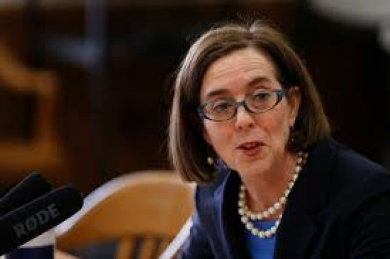 FILE PHOTO - Gov. Kate Brown