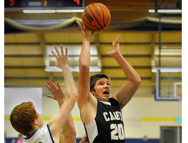 Nate McDonald's triple lifts Canby boys basketball team to 53-50 road win over Newberg