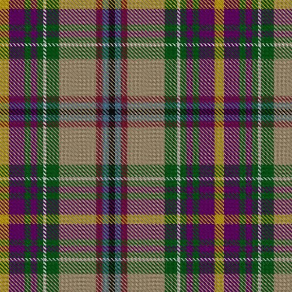 COURTESY PHOTO - Robert MacGregor's tartan incorporates Oregon's many geographic elements in its design.