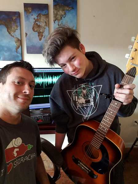 Mentor shares musical interests with teen