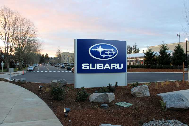 The Wilsonville Subaru is here - mostly