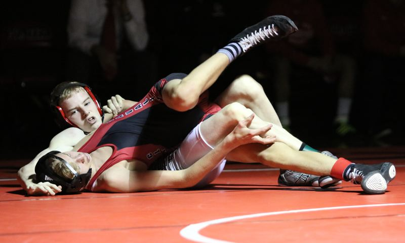 Slide show: Oregon City wrestlers down Clackamas