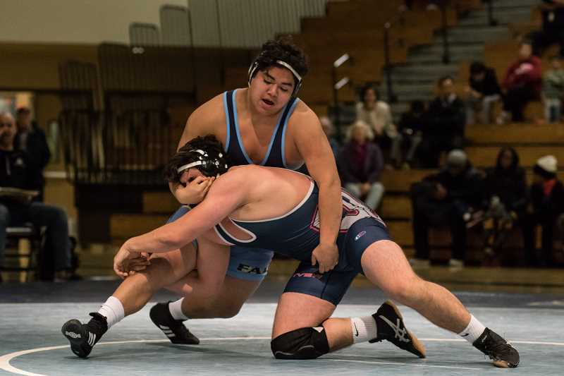 Liberty wins heavyweight bouts, but Westview wins the match