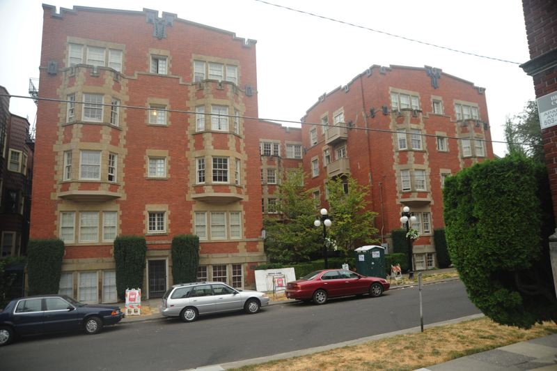 SUBMITTED: WALTER MCMONIES - The Trinity Place Apartments, 117 N.W. Trinity Pl., is listed on the National Register of Historic Places, so it will recieve a tax credit once the job is done.