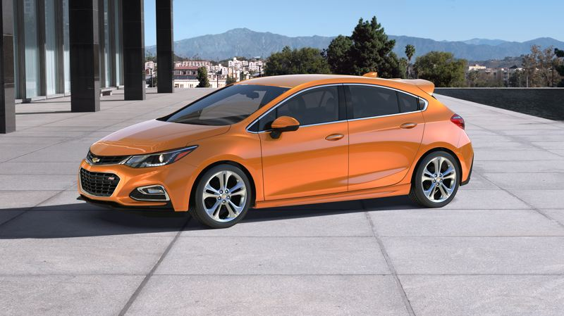 COURTESY CHEVROLET - The rest of the 2017 Chevy Cruze is unchaged from last year, meaning it's still one of the best looking compacts on the market.