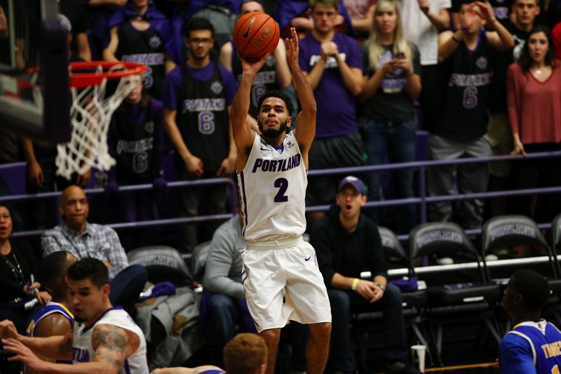 COURTESY: UNIVERSITY OF PORTLAND - Senior guard Alec Wintering will add his knowledge to the Portland Pilots bench the rest of the season, after suffering a torn ACL.