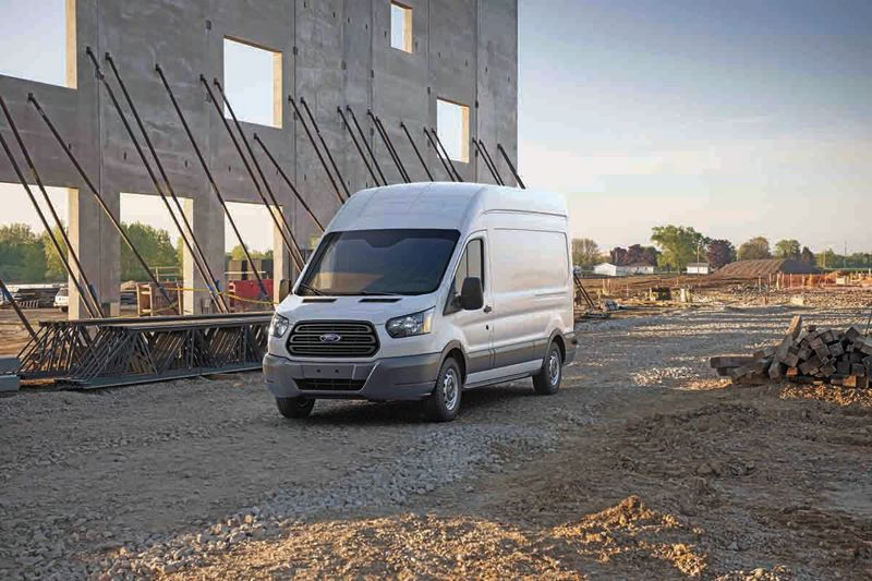 COURTESY: FORD - The Ford Transit saw a 22 percent growth in sales in 2016. These European-style uni-body vans are rapidly displacing the body-on-frame vans like the classic Econoline.