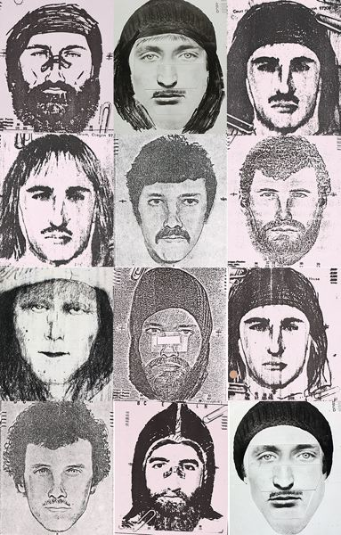 COURTESY: SPORTS ILLUSTRATED - Composite witness sketches, by Robert Beck, of the I-5 Killer.