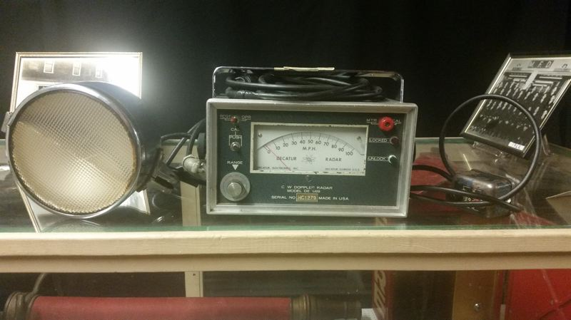 SUBMITTED PHOTO - Doppler radar from was used by Milwaukie police officers to catch speeders in 1968.