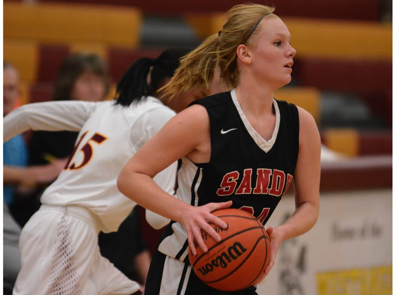 Sandy girls corral the Mustangs