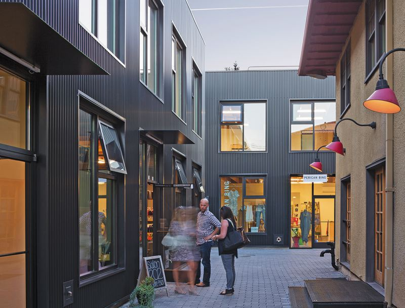 COURTESY: WAECHTER ARCHITECTURE - The Milwaukie Way project is just one of Ben Waechters acclaimed works.
