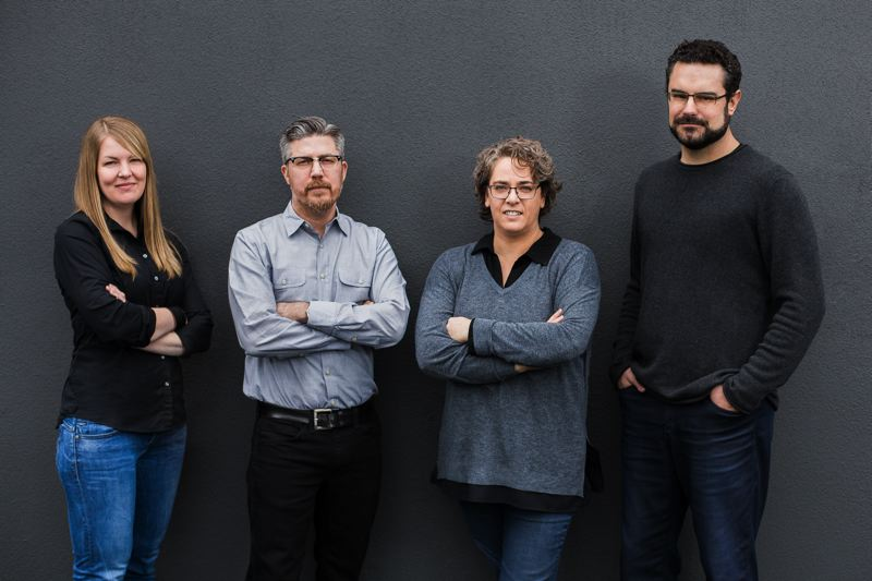 SUBMITTED: HOLST ARCHITECTURE - This month, Holst Architectures ownership was turned over to (from left to right) Renée Strand, Kevin Valk, Kim Wilson and Dave Otte.