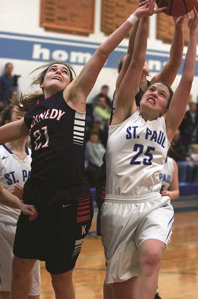 Girls basketball: Kennedy wins by double figures in top 10 showdown with Bucks
