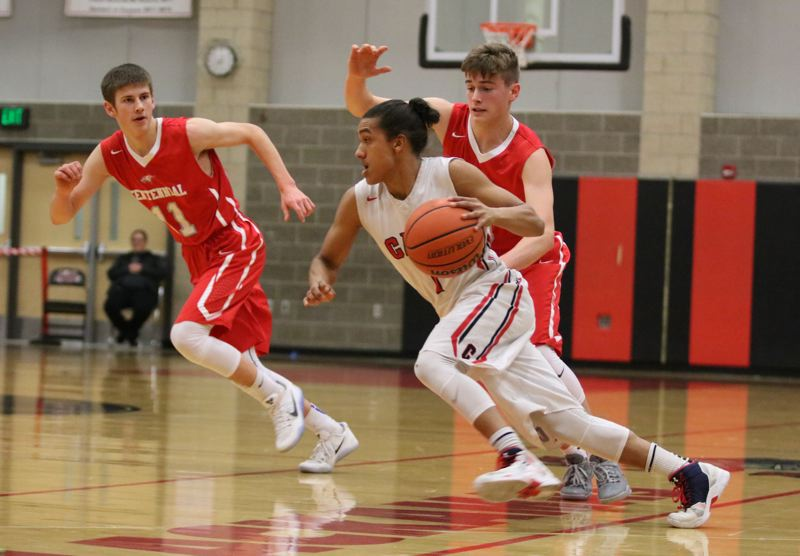 Clackamas downs Centennial, 64-56, runs streak to nine