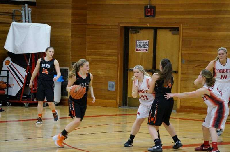 Molalla girls get four in a row