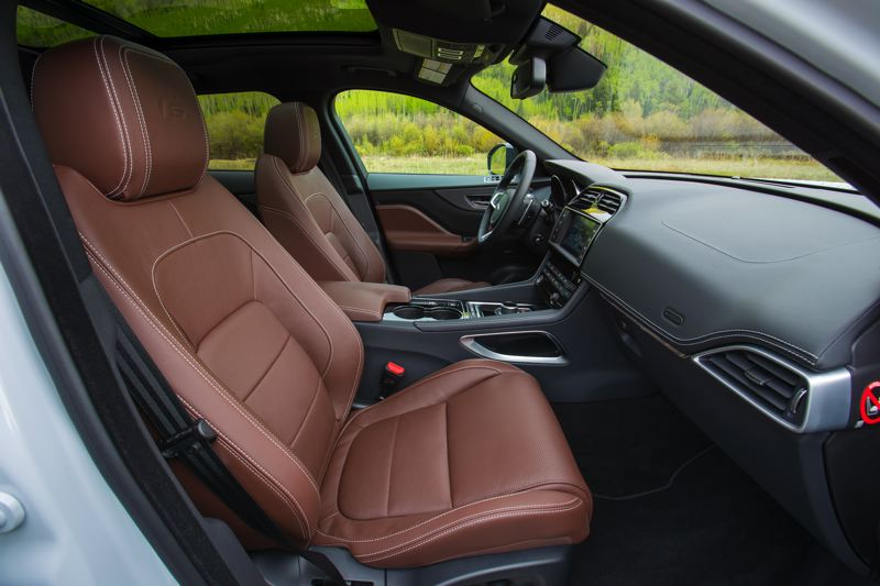 JAGUAR LAND ROVER - The interior of the 2017 Jaguar F-Pace has all the luxury touches on expects from the legendary manufacturer.