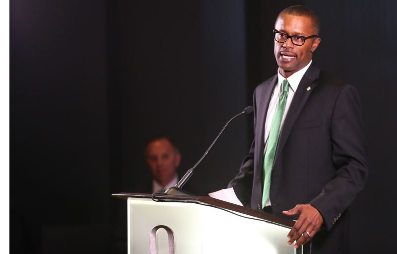 COURTESY: ERIC EVANS - The new coach of Oregon Ducks football, Willie Taggart, and his staff came away with what is being ranked as a solid recruiting class.
