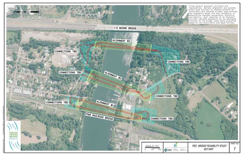 FRENCH PRAIRIE BRIDGE PLANNING LAUNCHED