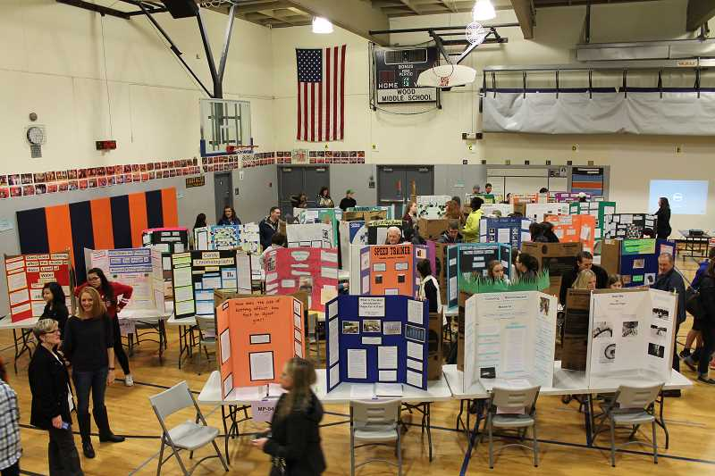 Middle school students bring science fair to life