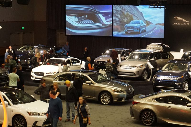 PORTLAND TRIBUNE: JEFF ZURSCHMEIDE - Consumer interest in new vehicles is still high, as shown by the crowds that attended the 2017 Portland International Auto Show last month.