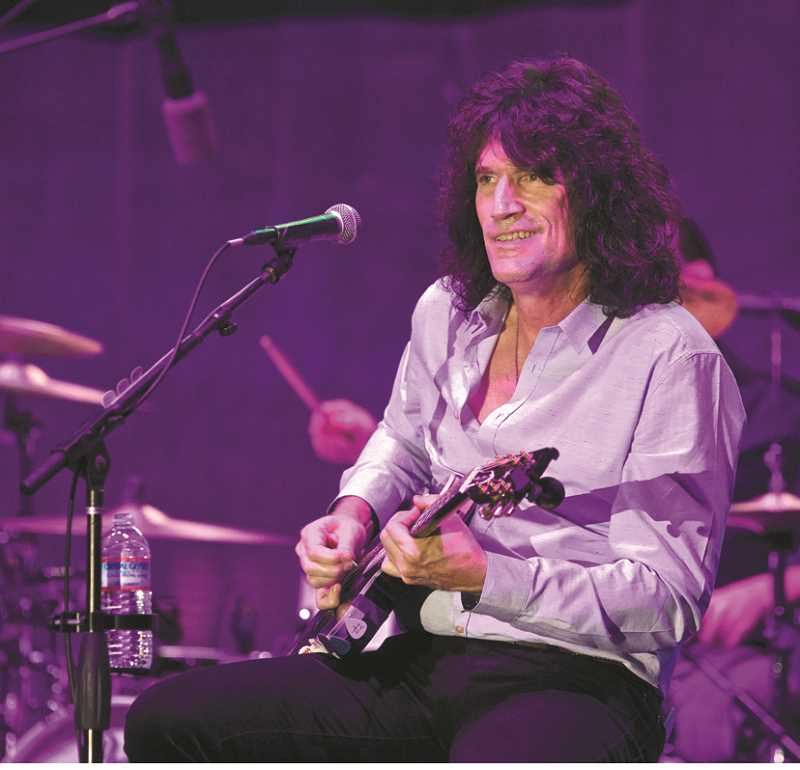 REVIEW FILE PHOTO - KISS guitarist Tommy Thayer, the son of Brig. Gen. James B. Thayer, helped raise money for a military museum named after his father at a 2014 concert in Lake Oswego. Thayer is scheduled to perform for the same cause Feb. 18 at an All Star Salute to the Oregon Military.