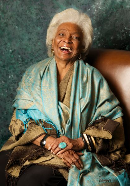 COURTESY: ROBIN DAMORE - Nichelle Nichols appears at Wizard World Comic Con again in Portland. She says: 'Life takes you down paths you can never really predict.'